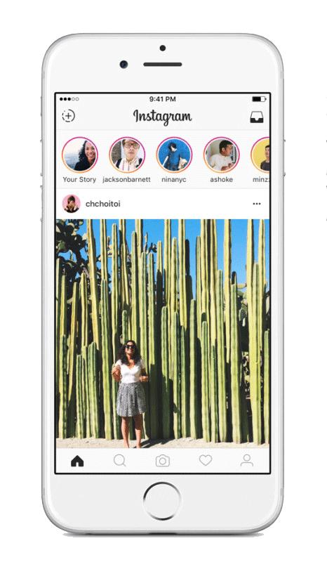 Instagram Stories Example 1
